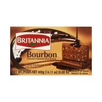 Britannia Cream Treat Biscuits - Bourbon 400g